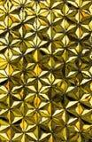 Goldwandhintergrund Lizenzfreie Stockfotos
