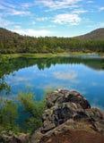 Goldwater湖,普里斯科特, AZ 库存照片