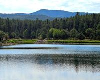 Goldwater Lake near Prescott, AZ, Yavapai County, Arizona Stock Photo