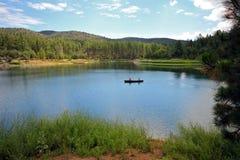Goldwatermeer dichtbij Prescott AZ, Yavapai-Provincie, Arizona Royalty-vrije Stock Fotografie