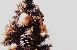 Goldweihnachten lizenzfreie stockfotos