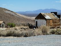 Goldwell-Freilicht-Museum, Death Valley Stockfotos