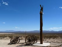 Goldwell Open Air Museum, Death Valley Royalty Free Stock Photo
