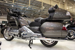 goldwing的本田motobike 图库摄影