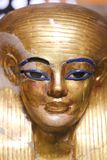 Goldy Mask at Egyptian museum. Cairo, Egypt Jan. 2018 Ancient gold and silver antiquities - Egyptian museum Stock Images