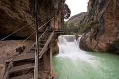 Gole del fiume di Vero Fotografia Stock