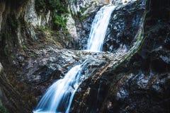 Gole du durnand delle alpi della Svizzera Fotografia Stock