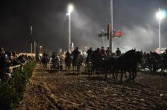 Golega-Pferdemesse Stockfotos