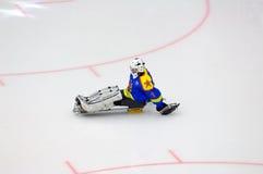 Goleiros da equipe de Ladoga imagem de stock royalty free
