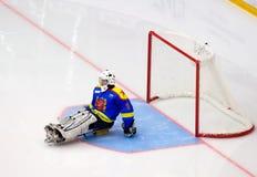 Goleiros da equipe de Ladoga imagens de stock