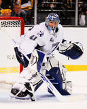 Goleiros de Mike Smith Tampa Bay Lightning Fotos de Stock