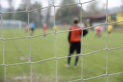 Goleiros do futebol Foto de Stock