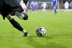 Goleiros do futebol Fotografia de Stock