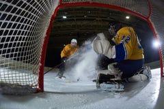 Goleiros do hóquei em gelo Imagens de Stock