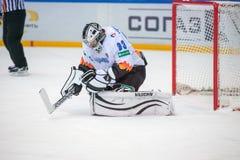 Goleiros Jakub Stepanek (33) Fotografia de Stock Royalty Free