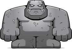 Golem en pierre Images stock