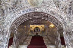 Golestan宫殿在德黑兰,伊朗 图库摄影