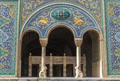 Golestan宫殿在德黑兰,伊朗 免版税库存图片