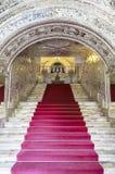Golestan宫殿在德黑兰,伊朗 免版税库存照片