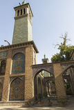 Golestan宫殿在德黑兰,伊朗 免版税图库摄影