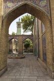 Golestan宫殿在德黑兰,伊朗 库存图片