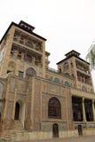 Golestan宫殿,德黑兰,伊朗 免版税库存照片