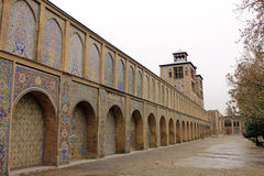 Golestan宫殿,德黑兰,伊朗 库存图片