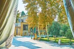 Golestan μέσω των κουρτινών, Τεχεράνη Στοκ εικόνες με δικαίωμα ελεύθερης χρήσης