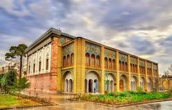 Golestan pałac, UNESCO dziedzictwa miejsce w Teheran Obraz Stock