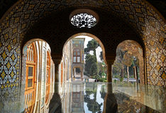 Golestan Palace. A view of Golestan palace from naser al-din shah's (Qajar king) tomb Stock Images