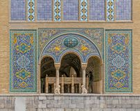 Golestan Palace building of Karim Khan of Zand Royalty Free Stock Photos