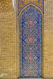 Golestan Palace decoration detail Stock Photo