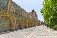 Golestan Palace Edifice of the Sun buildings Royalty Free Stock Images