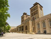 Golestan Palace Edifice of the Sun Towers Stock Images
