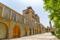 Golestan Palace exterior Edifice of the Sun Royalty Free Stock Photo