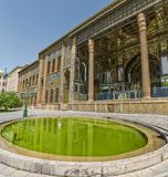 Golestan Palace exterior Royalty Free Stock Photos