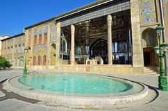 Golestan Palace. Former royal Qajar complex in Tehran Stock Images