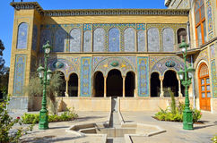 Golestan Palace. Former royal Qajar complex in Tehran Royalty Free Stock Images