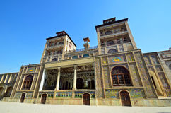 Golestan Palace. Former royal Qajar complex in Tehran Royalty Free Stock Image