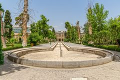 Golestan Palace garden Royalty Free Stock Image