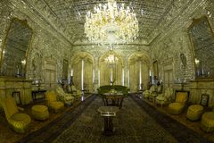 GOLESTAN PALACE. A historical room in golestan palace in theran royalty free stock images