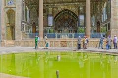 Golestan Palace Marble Throne Royalty Free Stock Photos