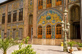 Golestan Palace - Tehran. Golestan Palace - Historic buildings in Tehran Royalty Free Stock Photos