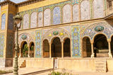 Golestan Palace - Tehran. Golestan Palace - Historic buildings in Tehran Royalty Free Stock Image
