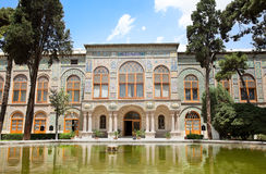 Golestan palace, Tehran, Iran. Beautyful architecture of Golestan palace, Tehran, Iran Royalty Free Stock Photo