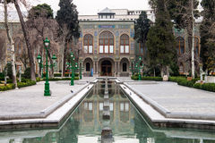 Golestan palace. In Tehran, Iran Stock Photos