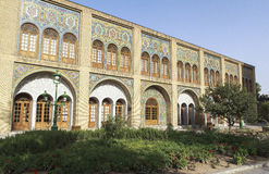Golestan Palace in Tehran, Iran. This picture is taken at Tehran, Iran. The Golestan Palace Persian: کاخ گلستان‎‎ – Kāx e Golestān is the former Royalty Free Stock Photo