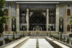 Golestan palace in Tehran. A very famous palace in Iran history, locates in Tehran stock photos