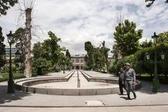 Golestan palace in Tehran stock photography