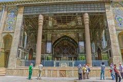 Golestan Palace Throne Stock Image